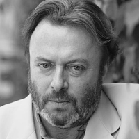Christopher Hitchens portrait