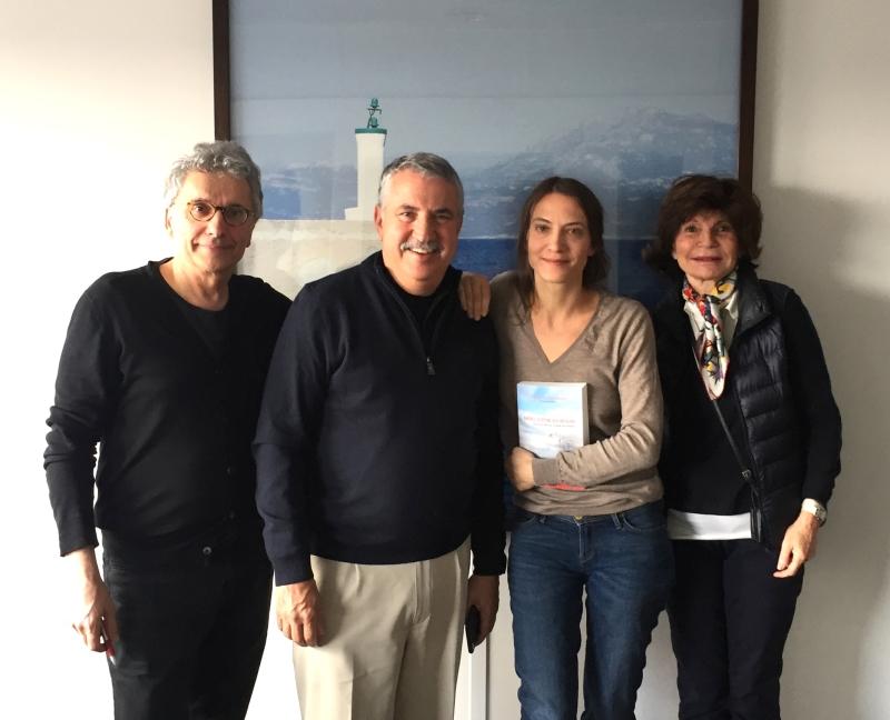 Antoine Mercier, Olivia Gesbert, Thomas Friedman et France Roque