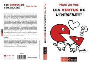 Les vertus de l'inégalité - Marc de Vos